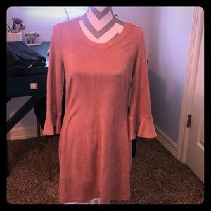 Mauve Dress perfect for Winter/Fall